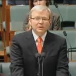 "Australia. Aborygeni. Premier Kevin Rudd przeprasza ""stolen generations"""