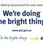 Podziękowania od Premier Queensland Anny Bligh za instalację słonecznego ogrzewacza wody.