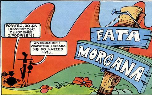 Chata Morgana – Miraże w Australii