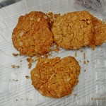 Anzac Biscuits. Ciasteczka na Anzac Day.