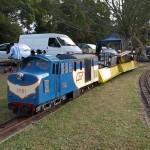 Australia. Modele pociągów do pojeżdżenia w Logan.