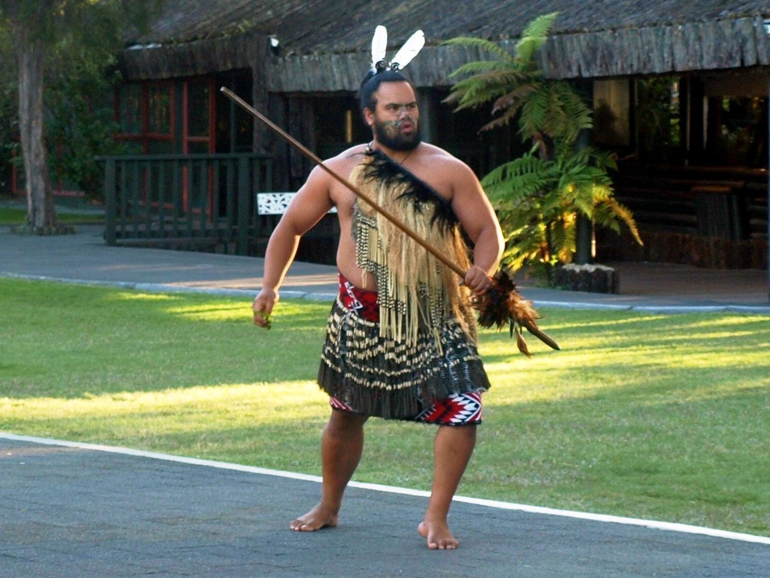 Te Puia – widowisko Maorysów w Rotorua w Nowej Zelandii